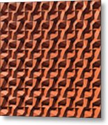 Relief D1 Leather Metal Print
