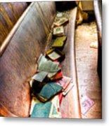 Religion Abandonded Metal Print