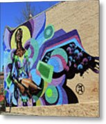 Reloaded Or Education Is A Powerful Weapon Mural -- 2 Metal Print