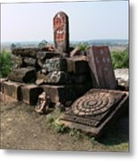 Remains At Bhojpur Metal Print