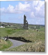 Remains Of An Irish Castle Metal Print