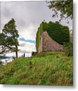 Remains Of Castle Lachlan Metal Print