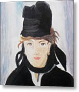 Remake Portrait Of Berthe Morisot Metal Print