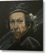 Rembrandt And Colour Metal Print