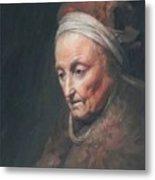 Rembrandt Mother Metal Print