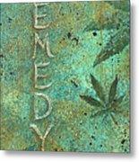 Remedy Metal Print