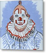 Remembering Clarabelle The Clown Metal Print