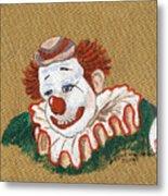 Remembering Felix Adler The Clown Metal Print