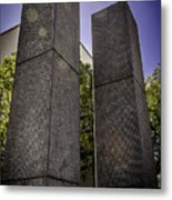 Remembering The Twins Metal Print