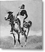Remington: Comanche, C1890 Metal Print