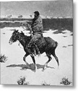 Remington: Luckless Hunter Metal Print