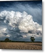 Remnants Of A Storm Metal Print