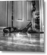 Rendezvous Do Not Disturb 05 Bw Metal Print