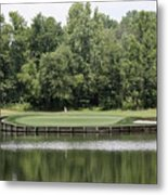 Renditions Golf - 13th Metal Print
