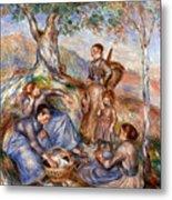 Renoir: Grape Pickers Metal Print