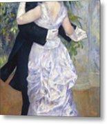 Renoir: Town Dance, 1883 Metal Print