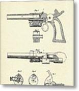 Repeating Firearm-1855 Metal Print