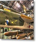 Republic F-105 Thunderchief Metal Print