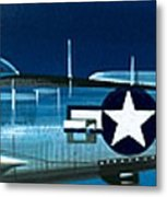 Republic P-47n Thunderbolt Metal Print