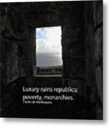 Republics And Monarchies Metal Print
