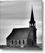 Requiem For An Old Church  Metal Print