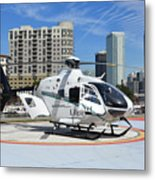Rescue Helocopter Metal Print
