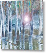 Rescued By The Lord Metal Print