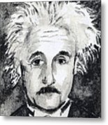 Resemblance To Einstein Metal Print