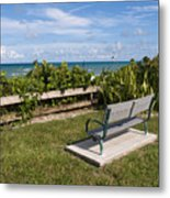 Reserved For A Visitor To East Coast Florida Metal Print