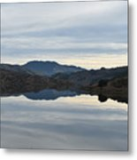 Reservoir Reflection Metal Print