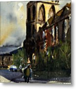 Residences, Catholic University Metal Print