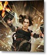 Resident Evil Afterlife Metal Print