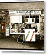 Resist Change - Village Shop Part1 Metal Print