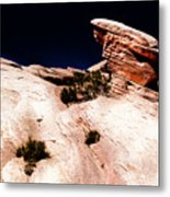 Resistant Boulder Valley Of Fire Metal Print