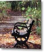 Rest A While Metal Print
