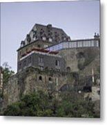 Restaurant At Rheinfels Castle Metal Print