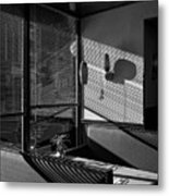 Restaurant Late Afternoon Metal Print