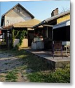 Restaurant On The Outskirts  Metal Print