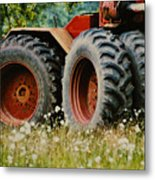 Restfull And Tired Metal Print