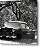 Resting Amongst The Oaks Metal Print