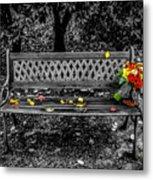 Resting Flowers Metal Print
