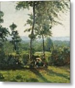 Resting In The Countryside Metal Print