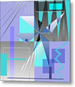 Restless Night - I Metal Print