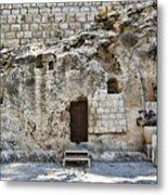 Resurrection - Garden Tomb Metal Print