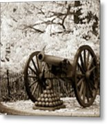 Retired From Honorable Service Metal Print