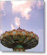 Retired Ride In The Sky Or Ufo Metal Print