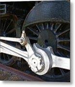 Retired Wheels Metal Print