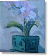 Retirement Orchid...SOLD Metal Print