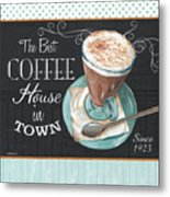 Retro Coffee 2 Metal Print