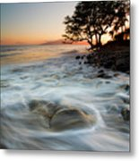 Return To The Sea Metal Print by Mike  Dawson